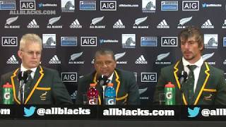 PRESS CONFERENCE: South Africa following 57 - 0 loss