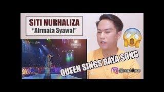 Siti Nurhaliza - Airmata Syawal (live) | REACTION