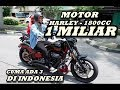 NYOBAIN Motor Atta Halilintar Satu Type /  Harley Davidson CVO Breakout  BIKE REVIEW Indonesia