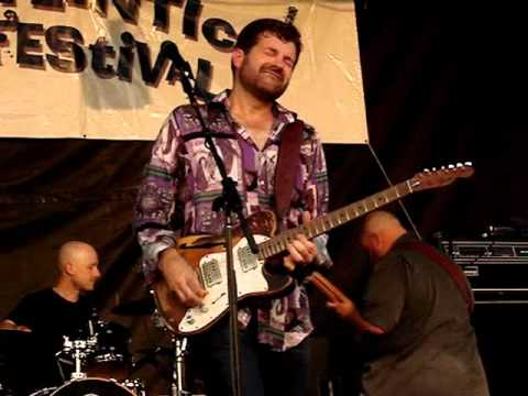 Tab Benoit - North Atlantic Blues Fest 2012.