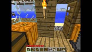 Как сделать супер мощный маяк в minecraft 1