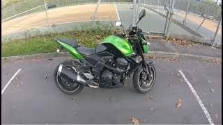 Kawasaki Z750 2009 First ride & Review