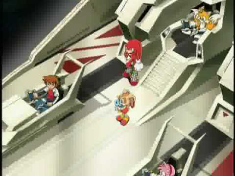 Sonic X Episode 60 - The Return of Shadow (Japanese) part 1