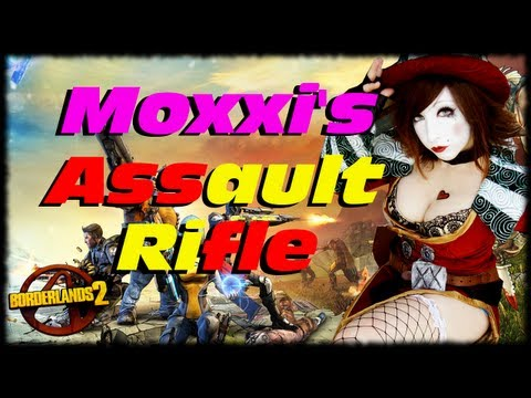 Borderlands 2 Moxxi's Secret Guns Easter Egg Hot Hail Assault Rifle @ Fink's Slaughterdome! (1080p)