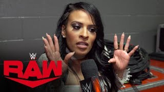 Andrade blames Zelina Vega for his loss: Raw Exclusive, Dec. 9, 2019