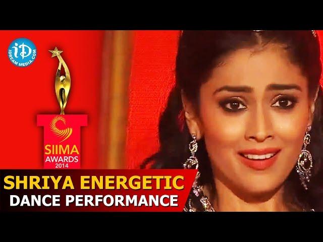Shriya Saran Energetic Dance Performance @ SIIMA 2014 Awards, Malaysia