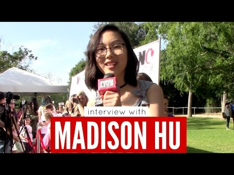 Interview with Disney Channel's Bizaardvark star Madison Hu at the Say No Bullying Festival