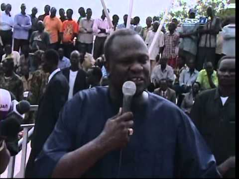 Riek Machar says Sudan must stop bombing South Sudan town