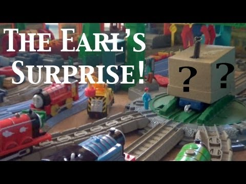Thomas and Friends Trackmaster Village King of the Railway The Earl's Surprise!