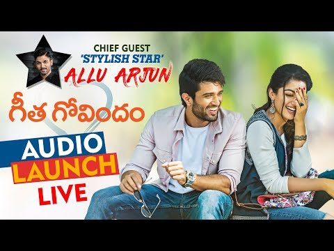 Geetha Govindam Audio Launch Live | Allu Arjun | Vijay Deverakonda | Rashmika Mandanna | Parasuram