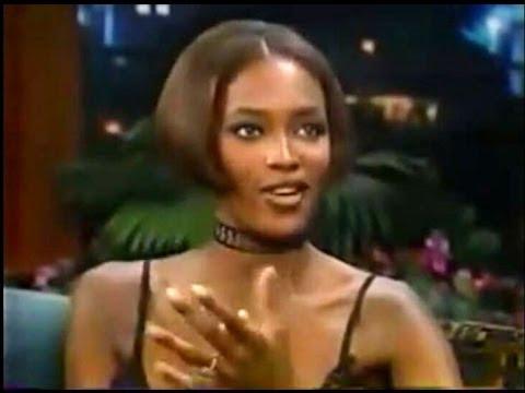 Naomi Campbell - Tonight Show w/ Jay Leno