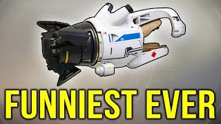 When a top 1% player uses the Tractor Cannon... it's absolutely HILARIOUS! (Destiny 2)