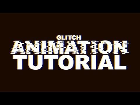 Photoshop Tutorial | Glitch Effect GIF Animation