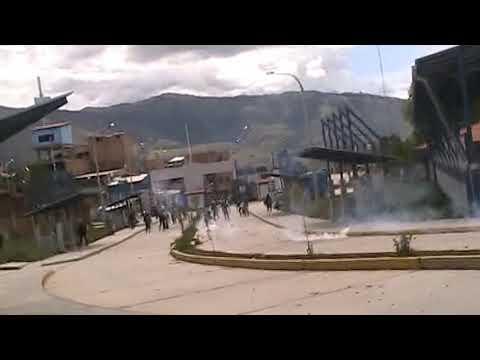 alumnos de la unasam nuevamente masacrados por los policias
