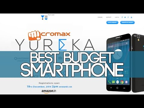 MICROMAX YUREKA BEST BUDGET SMARTPHONE   FIRST IMPRESSIONS AND FEATURES