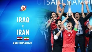 Iraq (0) VS (2) Iran - Highlight Final AFC U20 Futsal Championship 2017