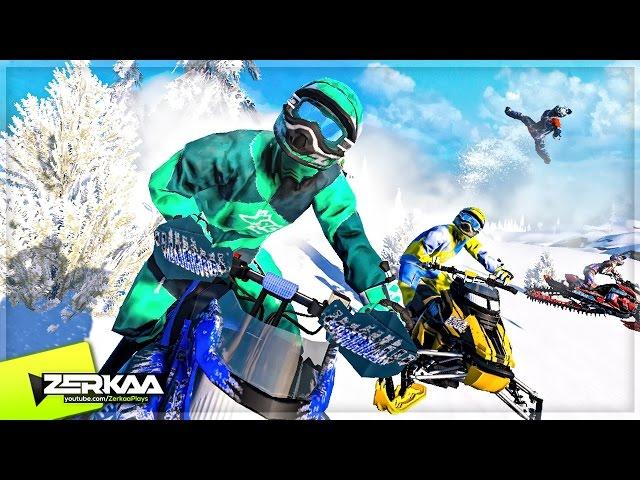 Руководство запуска: Snow Moto Racing Freedom по сети