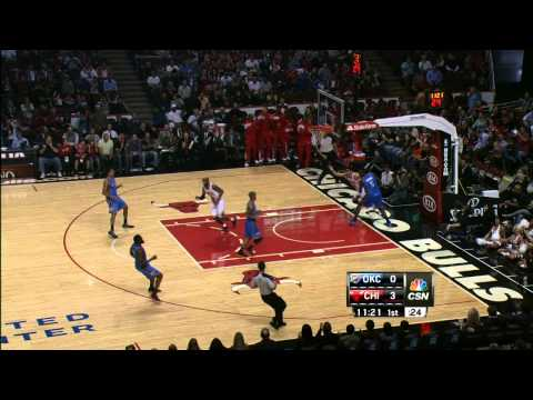 Luol Deng's Incredible Assist!