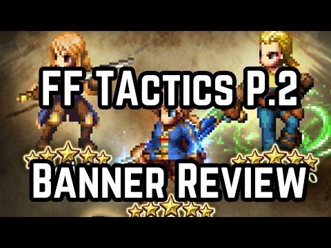 Final Fantasy Brave Exvius - Final Fantasy Tactics Mustadio, Agrias, and Ramza Review!