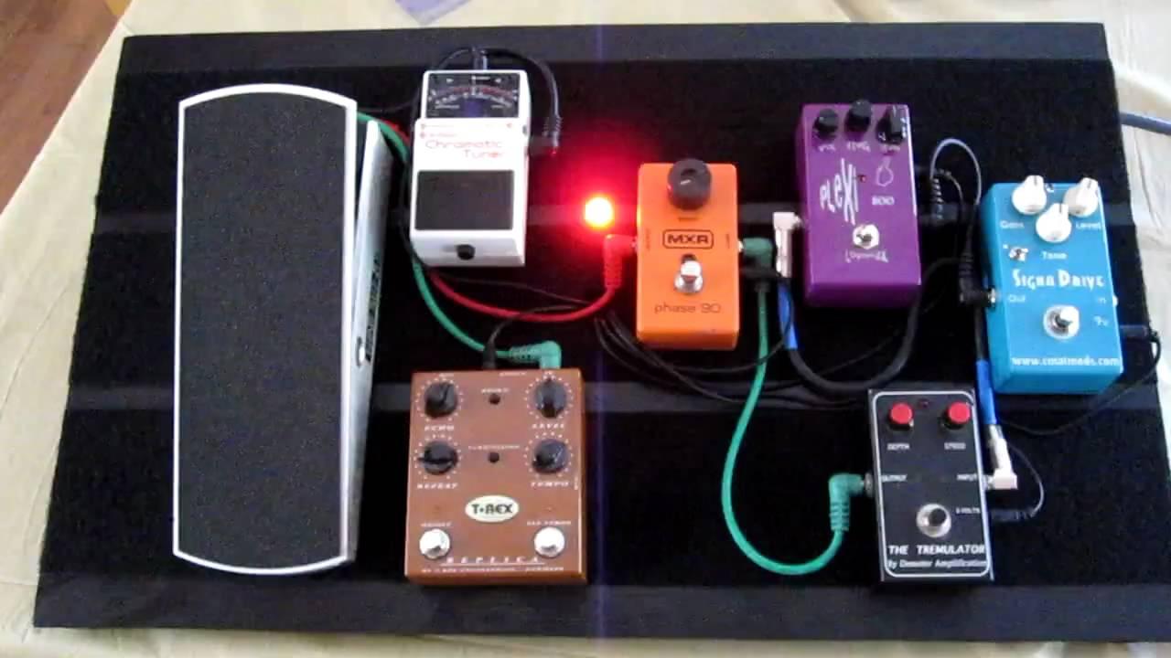 Guitar Pedals Board Guitar Effect Pedal Board