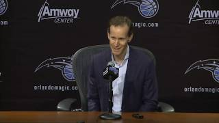 Jeff Weltman 16th pick Chuma Okeke NBA Draft 2019 press conference - Orlando Magic