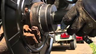 2) How To Install a Wheel Bearing mercedes vito rwd