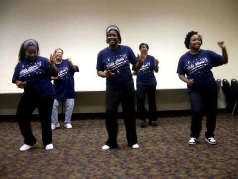 Wobble Line Dance With Slideshow video