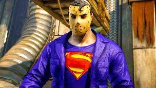 Mortal Kombat XL - All Klassic Fatalities on Superman Jason Costume Mod 4K Ultra HD Gameplay Mods