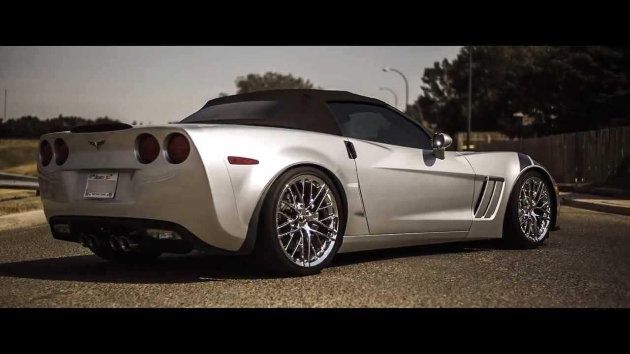 2012 Chevrolet Corvette Grand Sport Convertible Silver For