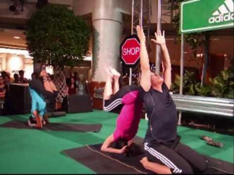 Adidas Celebrity Yoga feat Ninie Ahmad, Sazzy Falak and Nazril Idrus
