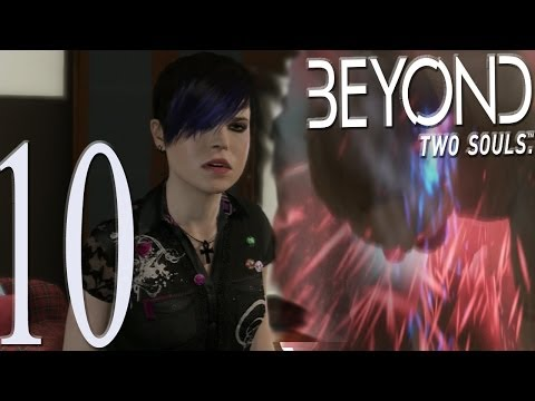 "Beyond Two (2) Souls - Like Other Girls And Alone - CHOKING OUR ""DAD"" Part 10"