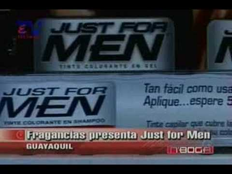 Las Frangancias presenta Just for Men