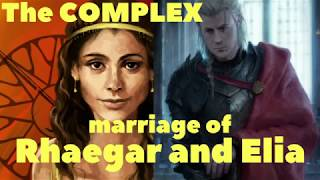 Rhaegar and Elia's marriage. What was really going on?