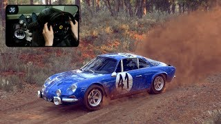 Dirt Rally 2.0 | Alpine Renault A110 | Thrustmaster T300 | 1440p Gameplay