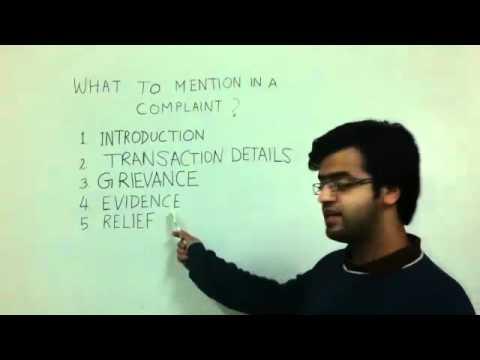Details jo consumer complaint main daalni chaahiye hain. Part 4/7 Hindi
