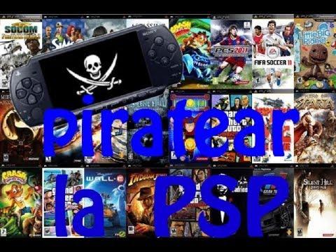 Como piratear la PSP v6.61 o anterior  (cualquier modelo) 2015