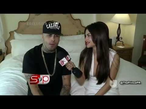 Nicky Jam Entrevista en Sal y Pimienta (Premios Juventud 2015)