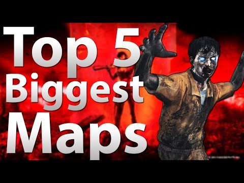 5 Biggest Maps In Of Duty Zombies Black Ops 2