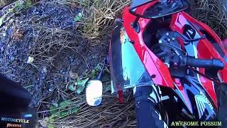 ROAD BIKES CRASHES COMPILATION & Dangerous Moments Motorcycle Accident + MOTO FAILS
