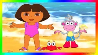 Dora and Friends the Explorer Adventure Cartoon for Kids 👙 Dora the Explorer Season Beach 😍