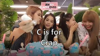 Learn the alphabet with BLACKPINK!!