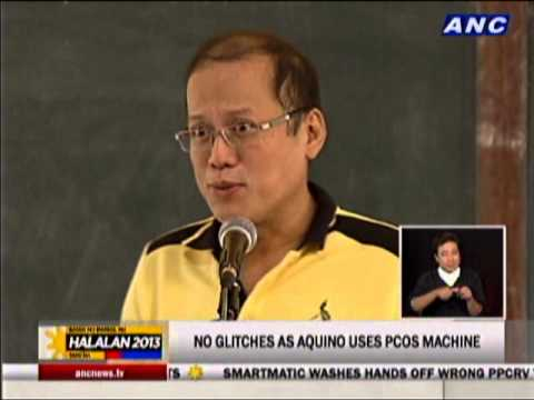 Aquino satisfied with poll security measures