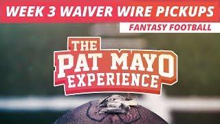2017 Fantasy Football Pickups: Week 3 Waiver Wire Rankings, Injuries and Recap