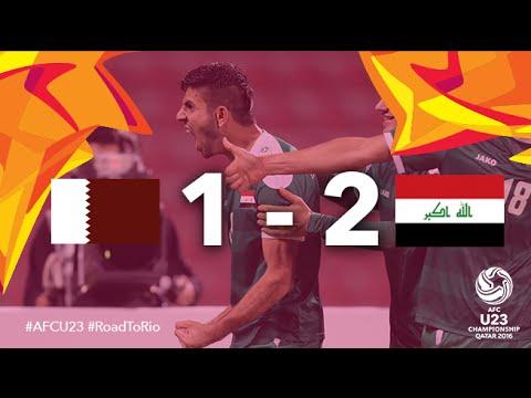 QATAR vs IRAQ: AFC U23 Championship 2016 (3rd Place Play Off)