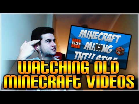 WATCHING MY OLD MINECRAFT XBOX VIDEOS! OMG! THIS IS EMBARRASSING!