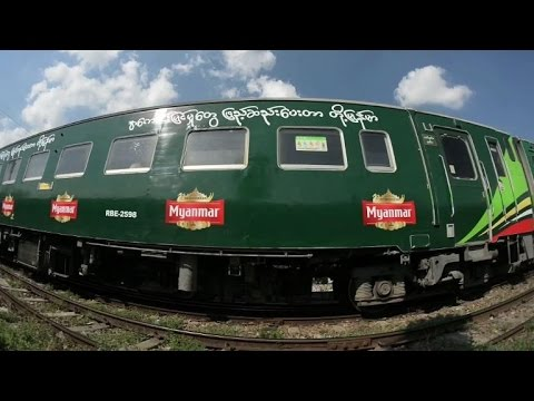 Car-choked Yangon aims to ride the rails to transport revolution