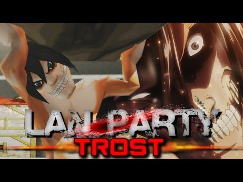 Attack on Titan Trost LAN Party