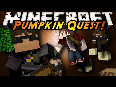 Minecraft: Pumpkin Quest Mystery of the Majestic Jewels Part 1!