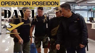 OP POSEIDON Day 1 - eat + play + airsoft (shot by Samsung note 4)