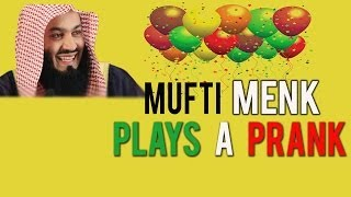 MUFTI MENK PLAYS A PRANK- HILARIOUS – YOU MUST WATCH